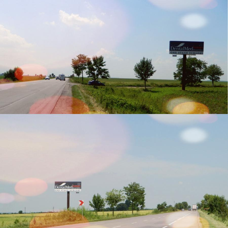 Drumul European E85, KM 37
