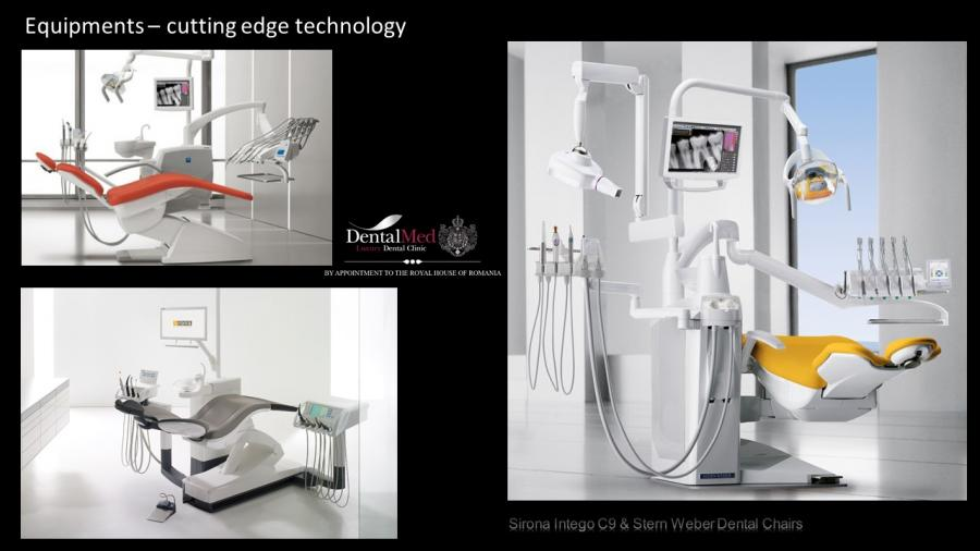 Sirona Intego C9 & Stern Weber Dental Chairs