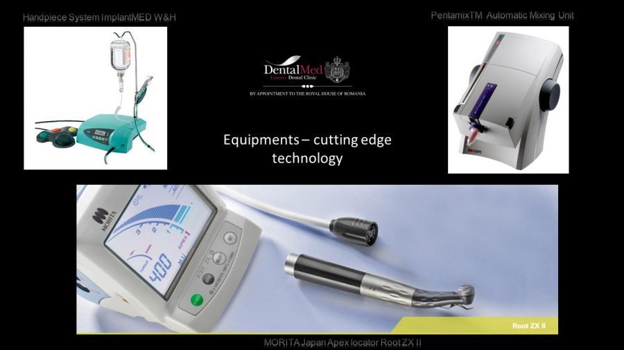 Equipments – cutting edge technology