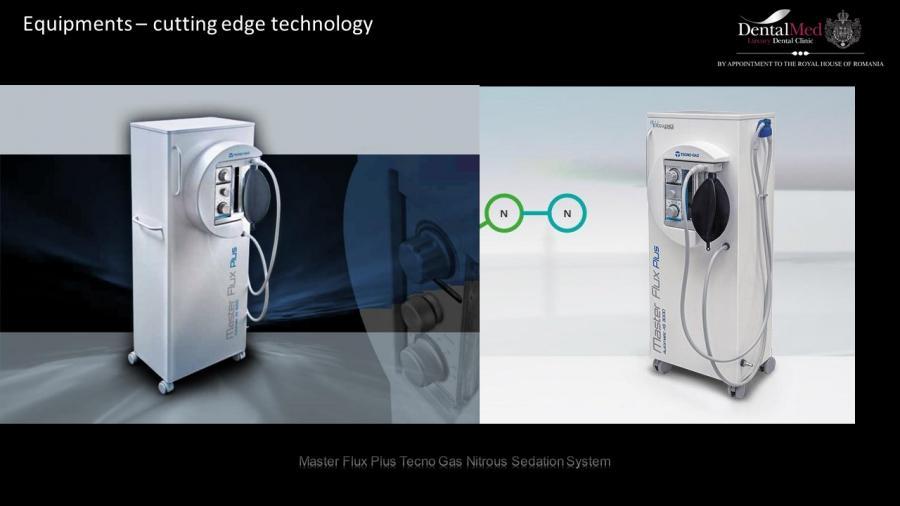 Master Flux Plus Tecno Gas Nitrous Sedation System
